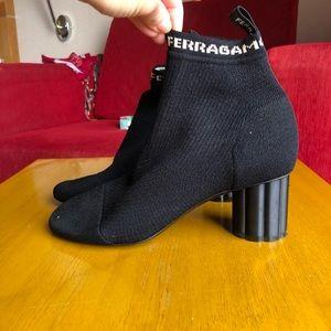 Authentic Salvatore Ferragamo socks boots